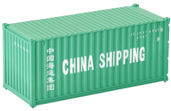 Container maritime 20 pieds China Shipping