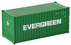 Container maritime 20 pieds Evergreen