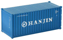 Container maritime 20 pieds Hanjin