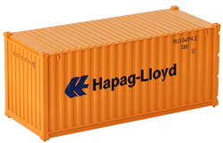 Container maritime 20 pieds Hapag Lloyd