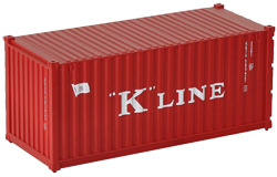 Container maritime 20 pieds K-Line