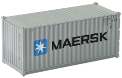 Container maritime 20 pieds Maersk