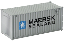 Container maritime 20 pieds Maersk Sealand