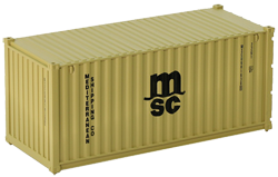 Container maritime 20 pieds MSC