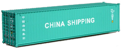 Container maritime 40 pieds China Shipping