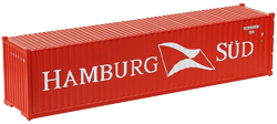 Container maritime 40 pieds Hambourg Süd