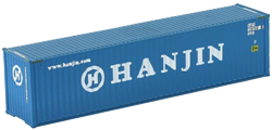 Container maritime 40 pieds Hanjin