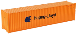 Container maritime 40 pieds Hapag Lloyd