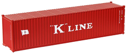 Container maritime 40 pieds K-Line