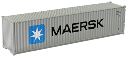 Container maritime 40 pieds Maersk