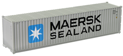 Container maritime 40 pieds Maersk Sealand