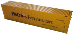 Container maritime 40 pieds P&O FerryMasters